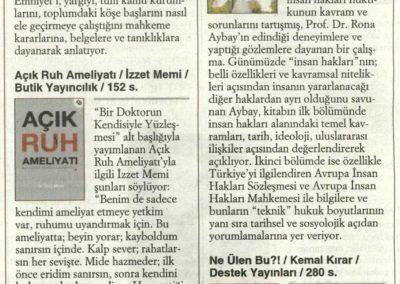 Cumhuriyet Kitap- 14.05.2015